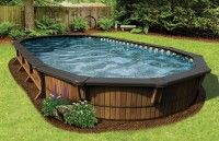 Pools Semi Inground Pools Toundra Semi Inground Pool