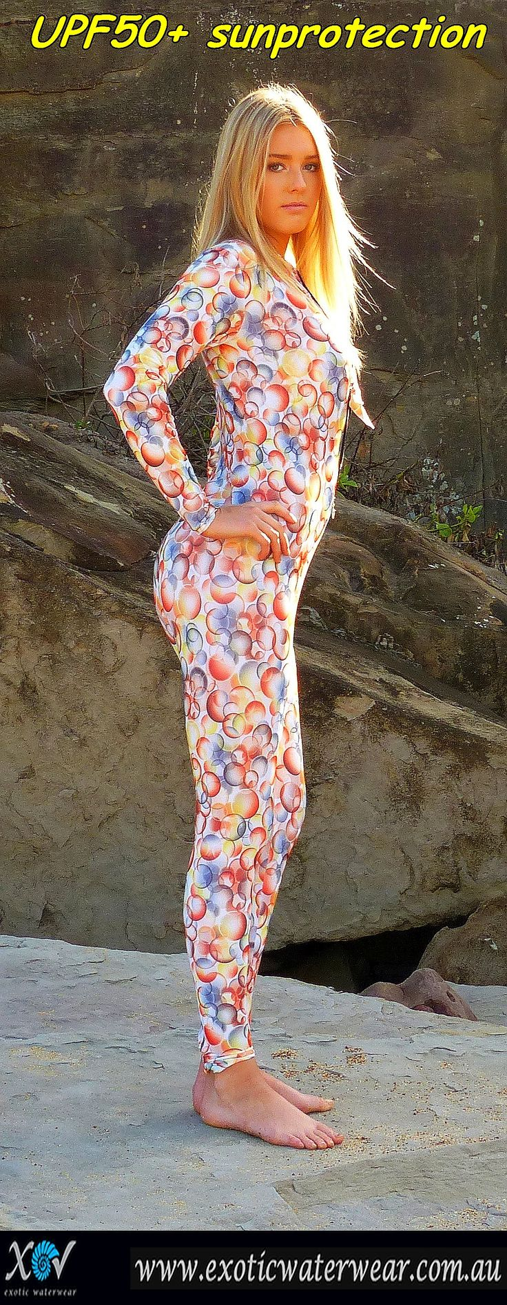 Only $99 AUD for stingersuit with style UPF50+ sunprotection!