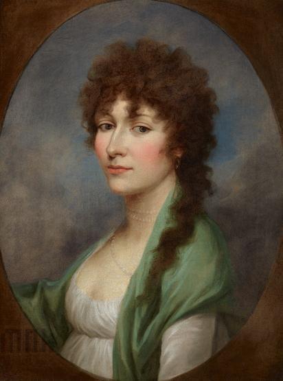 Portrait of Maria Grabowska | Portret Marii Grabowskiej, przed 1800 | Katalog…