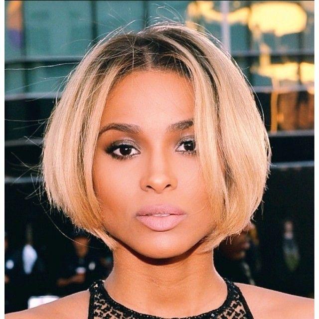 Incredible 1000 Ideas About Ciara Bob On Pinterest Bobs Ciara Blonde Hair Short Hairstyles For Black Women Fulllsitofus