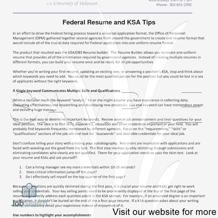 Build a Professional Resume for Free in 2020 Federal resume