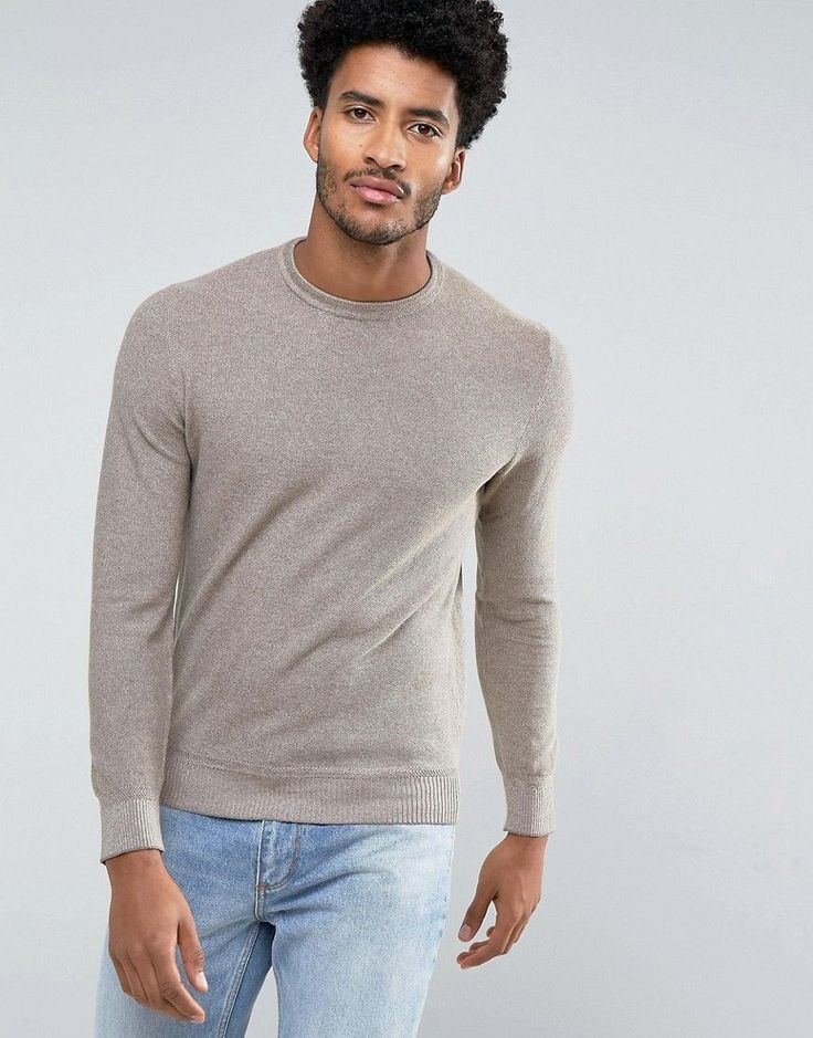 Get this Mango's knit pullover now! Click for more details. Worldwide shipping. Mango Man Textured Jumper In Brown Marl - Brown: Jumper by Mango, Textured knit, Crew neck, Ribbed trims, Regular fit - true to size, Machine wash, 100% Cotton, Our model wears a size Medium and is 189cm/6'2.5 tall. Barcelona-born Mango future-proofs your wardrobe with its contemporary-cut denim, jersey and outerwear. Stock up on reworked classic pieces with the brand�s suit separates, polo shirts and T-shirts…