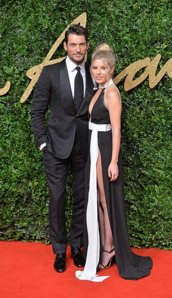 David Gandy & girlfriend Mollie King ' photo gallery