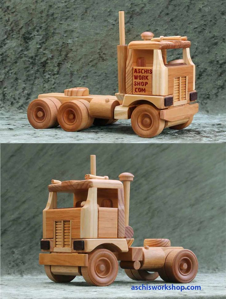 Woodworking Plans Toy Truck : Images about toy wood trucks on pinterest toys