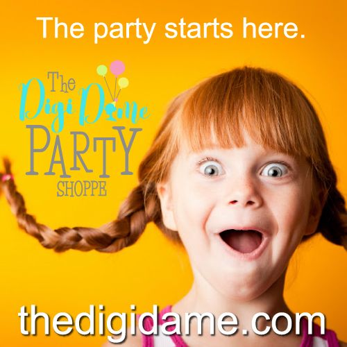 For all your instant party printables - thedigidame.com
