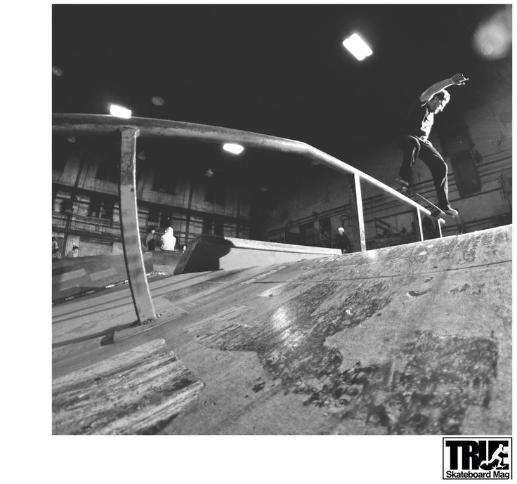 True Skateboard Mag. My shot