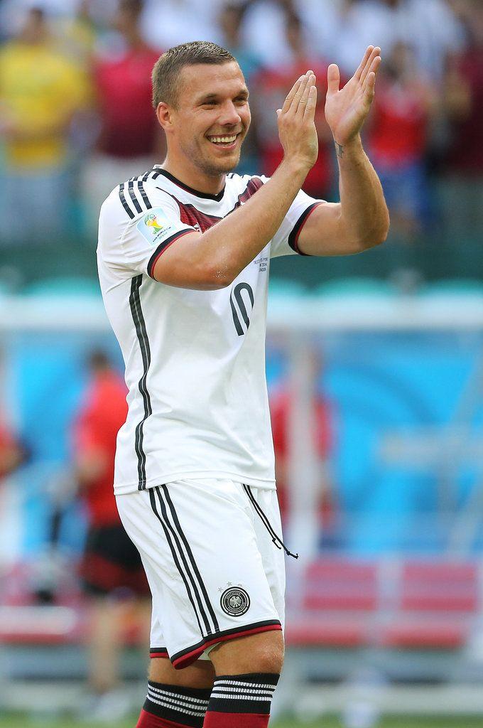 Germany: Lukas Podolski #footballislife