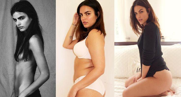 From a size zero to a plus size model – Liza Golden Bhojwani