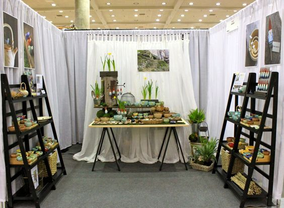 Like the shelving and simple layout - American Craft Council Display | Flickr - Photo Sharing!