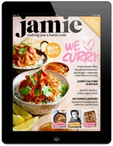 Jamie iPad magazine