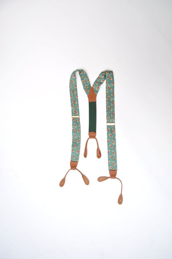 vintage suspenders mens braces RALPH LAUREN polo by andyhaul, $29.99