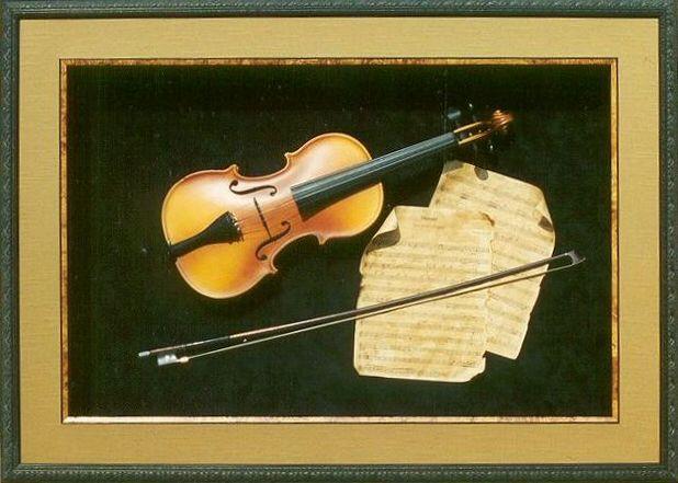 Violin Shadow Box Antique Violin Shadowbox Interior