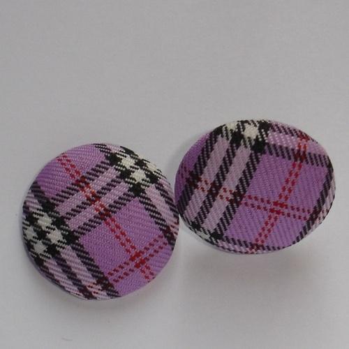 Orecchini Scozzesi a Perno  Scottish earrings