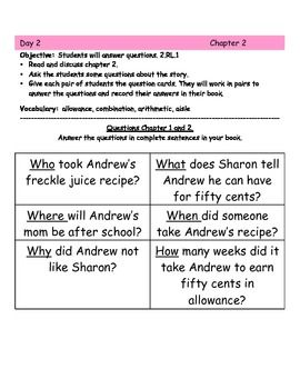 Worksheet Freckle Juice Worksheets 1000 ideas about freckle juice on pinterest frindle mo willems free 20 page unit aligned to the common core