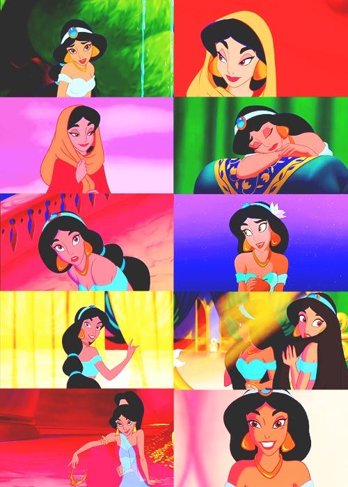 My favorite Disney princess, Jasmine.