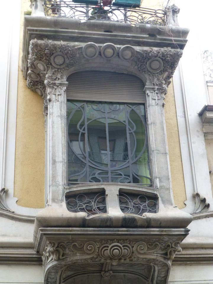 Palazzina liberty Galatieri, architetto Pietro Fenoglio 1903, via Passalacqua Torino