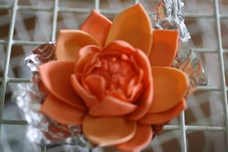 A Cake To Remember VA: How To Do Multicolored Gumpaste Petals Part 2