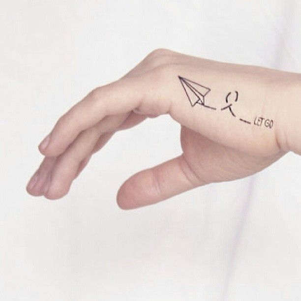 Pin for Later: 30 Tiny, Chic Wrist Tattoos That Are Better Than a Bracelet Paper Airplane