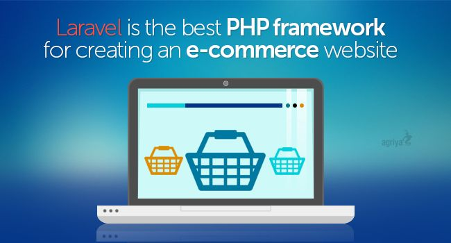 Laravel is the best #PHP framework for creating an eCommerce website  To know more: https://blogs.agriya.com/2015/09/07/laravel-best-php-framework-creating-ecommerce-website/