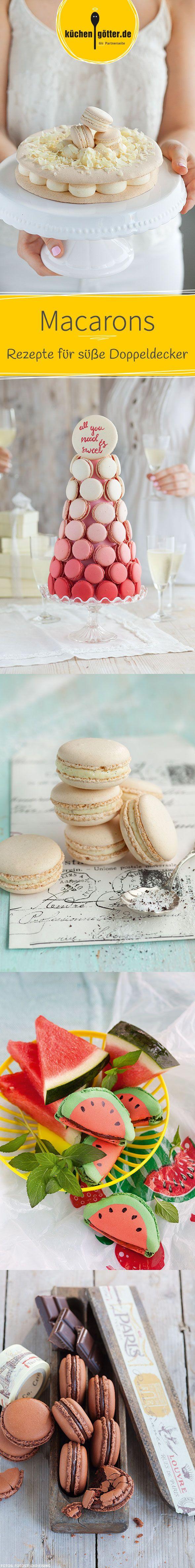 We love Macarons! Mit diesen süßen Doppeldeckern schweben wir wahrlich im 7. Himmel. Ob fruchtig, schokoladig, mit Vanille oder Nüssen. Bei unseren Macaron-Rezepten ist garantiert für jeden etwas dabei.