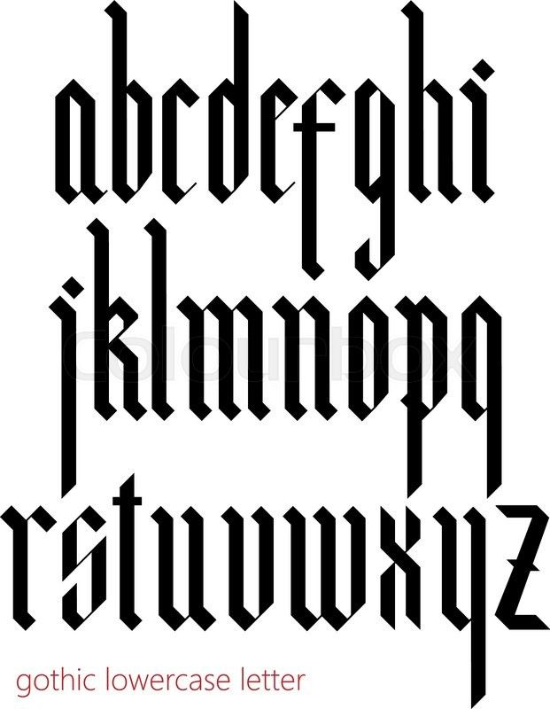 25 Unique Gothic Fonts Ideas On Pinterest Letter Fonts