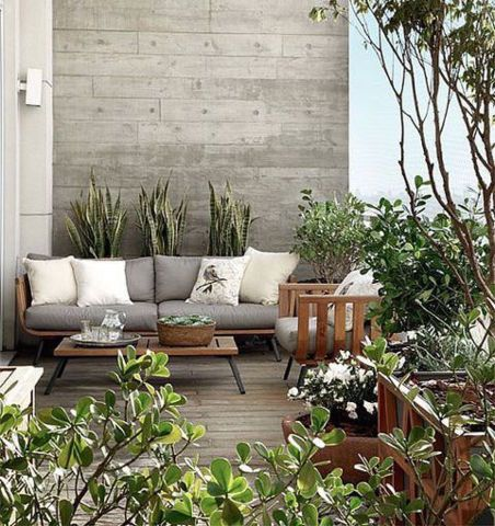 1000 ideas about small outdoor spaces on pinterest for Idee deco petite terrasse