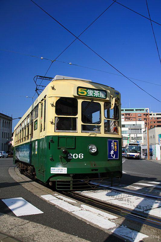 Nagasaki Tram, Japan 長崎電気軌道