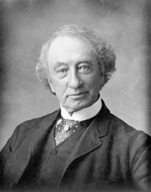 Prime Minister Sir John A. Macdonald at 55, (1870).