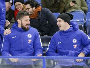 Team News: Alvaro Morata, Olivier Giroud named on Chelsea bench for Barcelona clash