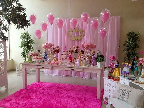 Painel festa princesa pesquisa google craft - Casas de princesas ...