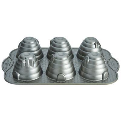 Beehive Cakelet Pan in speciality and novelty cake tins at Lakeland