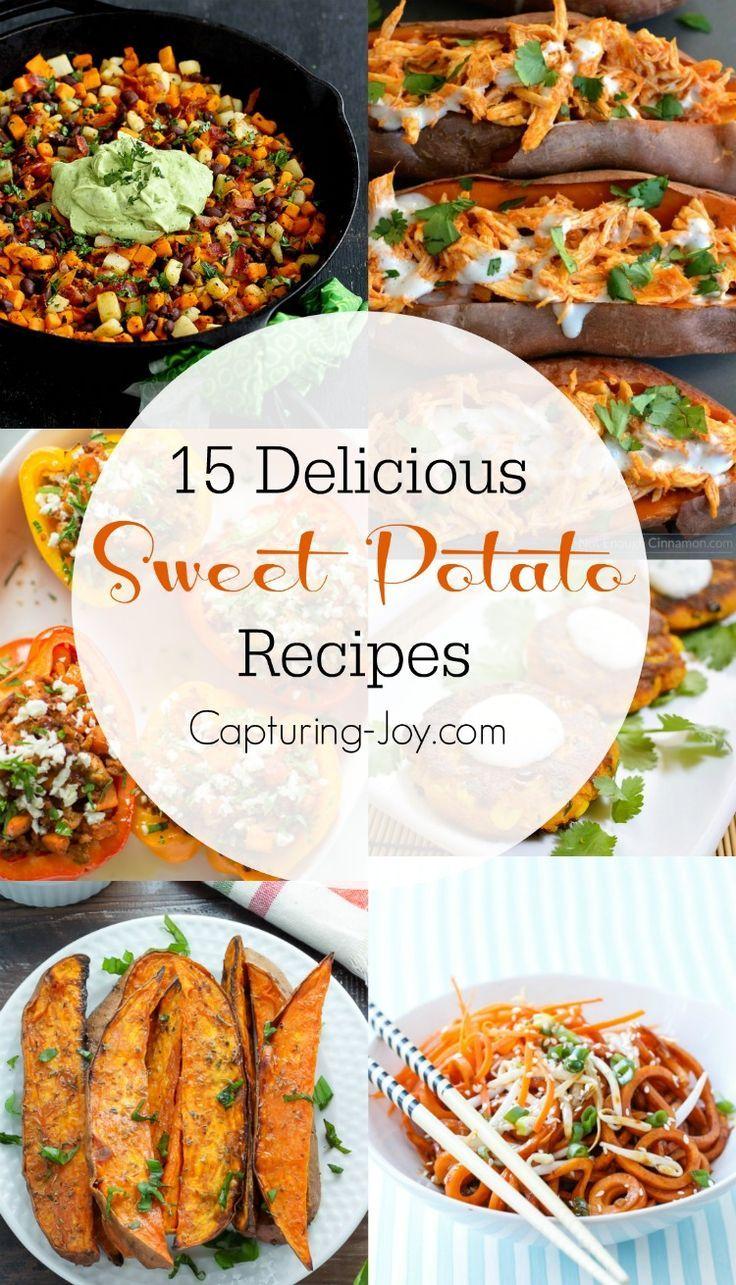 15 Amazing Sweet Potato Recipes the whole family will love!
