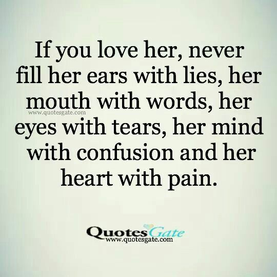 Tell Her U Love Her Quotes: 25+ Best You Lied Quotes On Pinterest