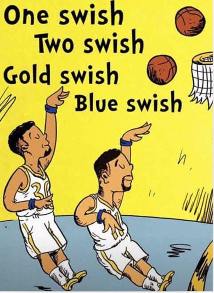 Go Dubs! 2017 NBA Finals (Basketball)