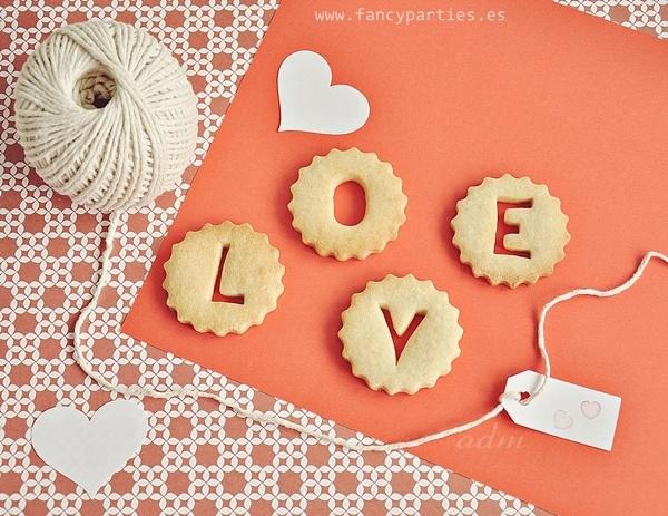 Love Cookies by www.fancyparties.es