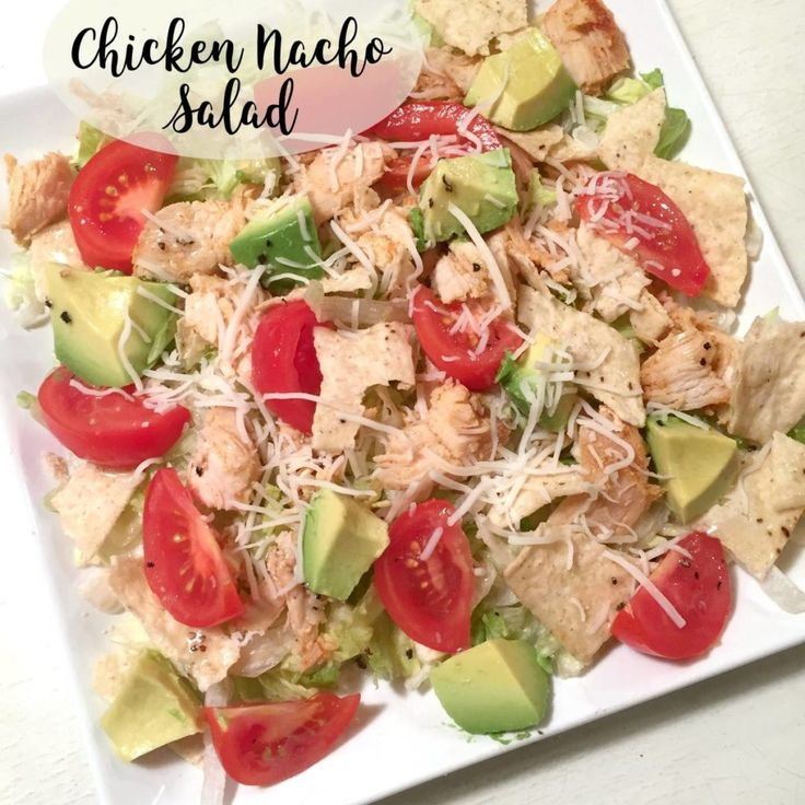 Chicken Nacho Salad