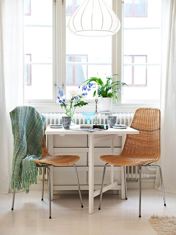 Table For Two   I Love The Throw And How It Pulls Together The Teal And · Cozy  KitchenKitchen ...