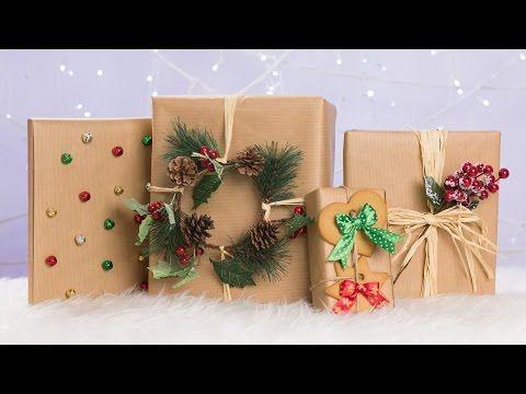 DIY: Kreatywne pakowanie prezentów ♡ Red Lipstick Monster ♡ - YouTube