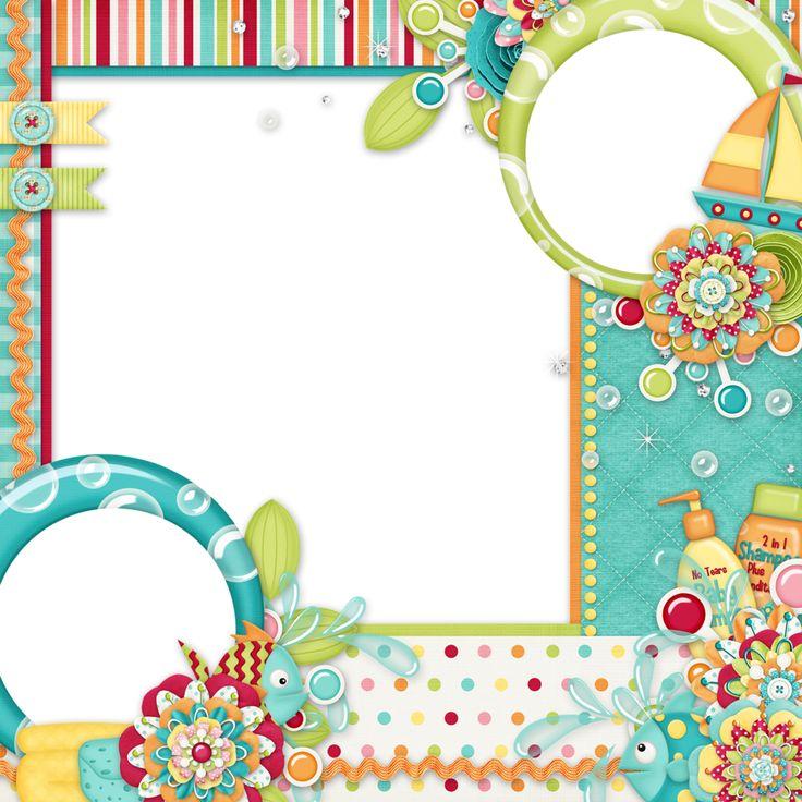 Макет детской открытки