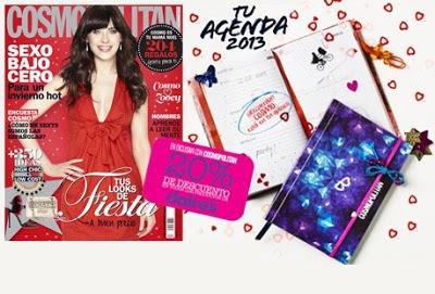 Regalos que te traen las principales revistas de moda en sus números del mes de Diciembre 2012.