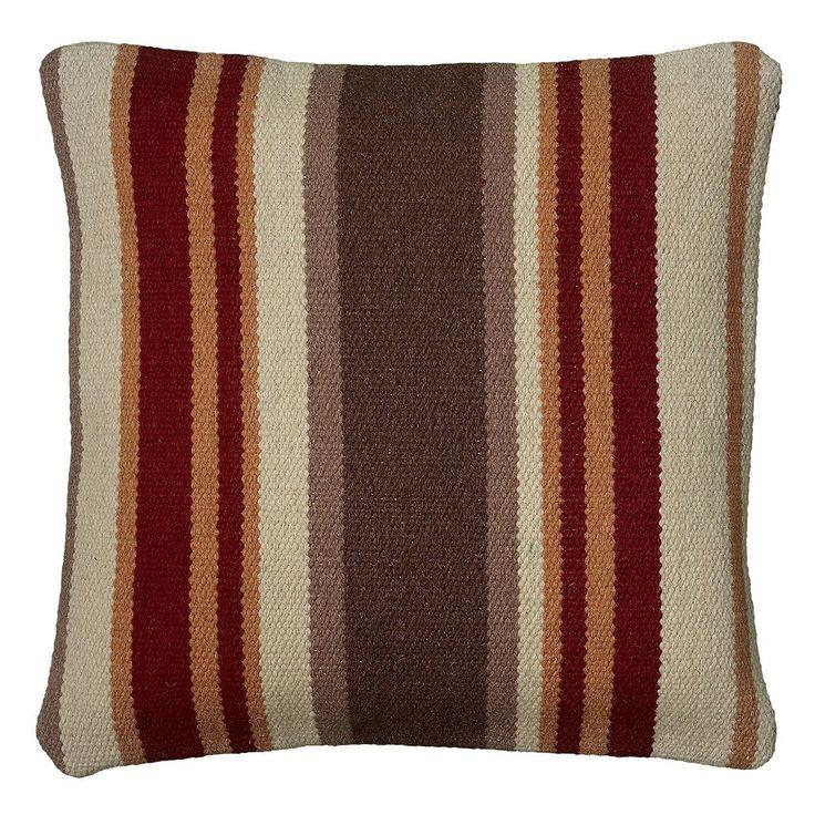 Rizzy Home Southwestern Throw Pillow, Orange