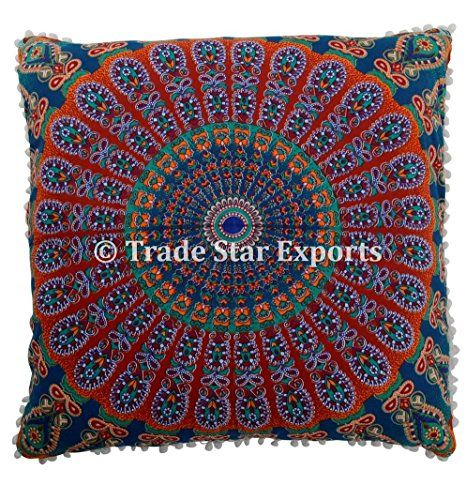 26 X 26 Mandala Euro Sham, Indian ethnic Pillow Case, Pea... https://www.amazon.com/dp/B079TTLQ2Z/ref=cm_sw_r_pi_dp_U_x_EOOIAbFV3JV8X