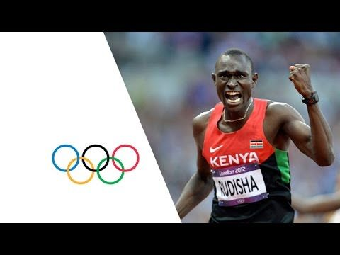 David Rudisha, one of the most humble young 800m runner from Kenya - holder of the 800m WR, Gold at 2012 Olympics, and Athlete of the year. This video was the performance of the 2012 Olympics!  <Kenya's David Rudisha wins Gold in the Men's 800m Final and breaks the World Record with a time of 1.40.91 at London's Olympic Stadium.>