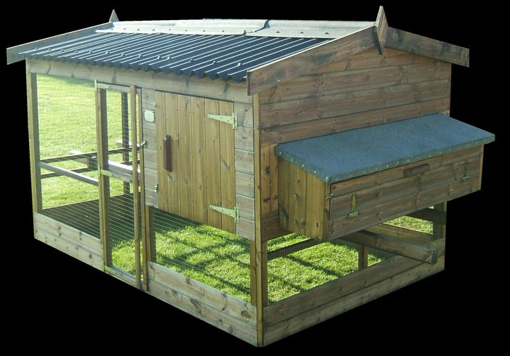 The Thicket Poultry House range is our most popular chicken house. It is very sturdily built and is also very attractive. We make it in 2 standard sizes, but we are often asked to make it in bespoke sizes as well. All our buildings are made to order so alterations are not a problem.