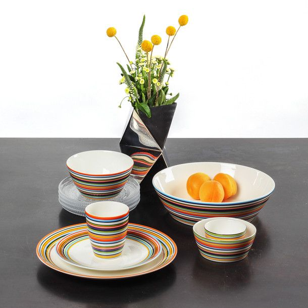 Origo Dessert Bowl Orange