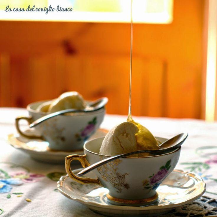 Un gelato per le Bloggalline…senza uova, senza gelatiera e senza panna! | La casa del coniglio bianco