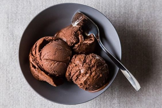 Naked Chocolate Ice Cream for Lovers...wish I still had my ice cream maker.
