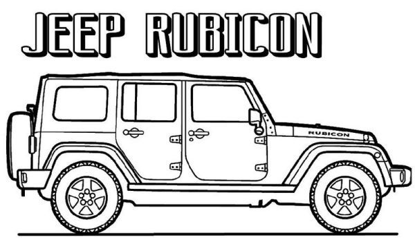 Jeep Coloring Pages Printable Free Coloring Sheets Jeep Jeep Rubicon Coloring Pages