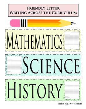 78 Ideas for writing across the curriculum