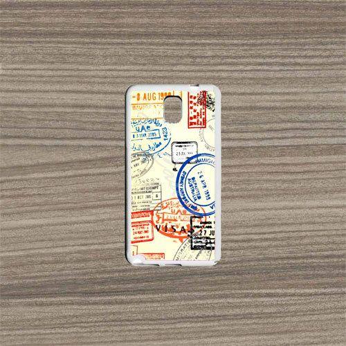 Samsung Galaxy Note 4 CaseVisa Paper Samsung Galaxy by KrezyCase